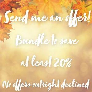 Make me an offer! Bundle & save